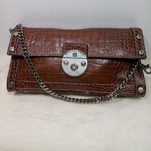 Vintage Michael Kors croc leather purse.